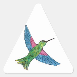 Hummingbird Triangle Sticker