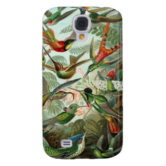 Hummingbird Tropical colorful Phone Case Galaxy S4 Covers