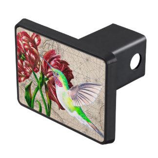 Hummingbird Tulip Map Hitch Cover