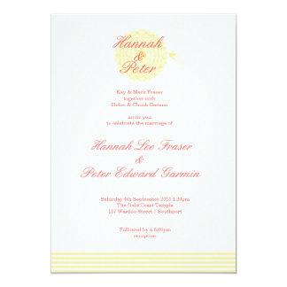 Hummingbird Wedding Card