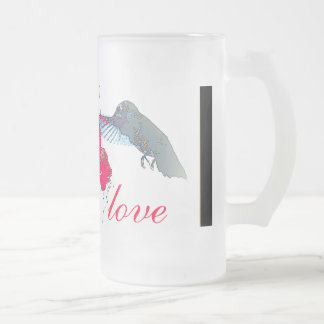 Hummingbird Wedding Love Mug