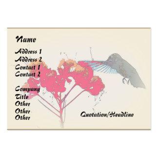 Hummingbird Wildlife Business Card