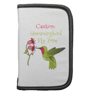 Hummingbird Zone Folio Planner