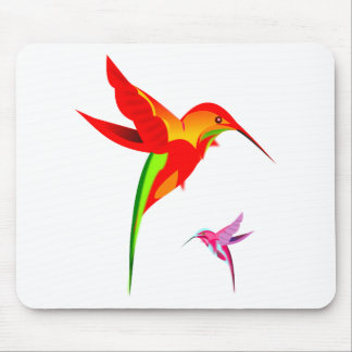 hummingbirds-307916  hummingbirds colorful kaleido mouse pad