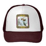 Hummingbirds and Flowers #2 Trucker Hat