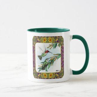 Hummingbirds and Flowers #4 Mug