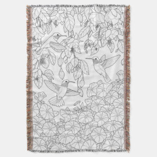 Make Your Own Adult Coloring Blanket Bundle Up In Yours Today