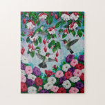 Hummingbirds and Flowers Puzzles