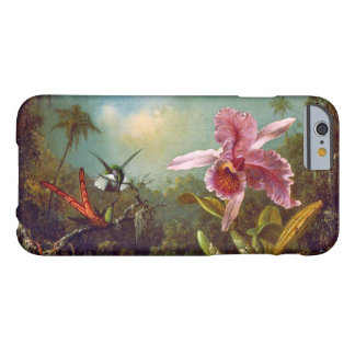 Hummingbirds and Orchid 1871 Barely There iPhone 6 Case