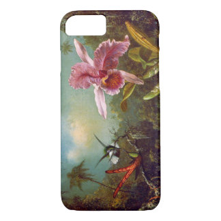 Hummingbirds and Orchid 1871 iPhone 8/7 Case
