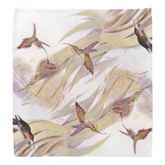 Hummingbirds Bandana Scarf