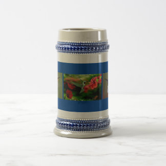 Hummingbirds Beer Stein
