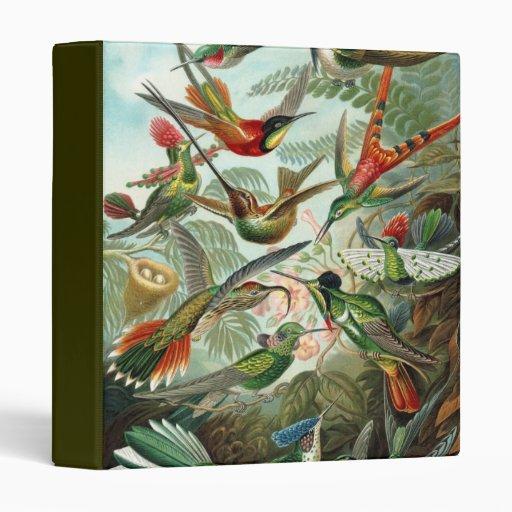 Hummingbirds Binder