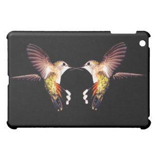 Hummingbirds birds animal feathers flying pretty iPad mini cover