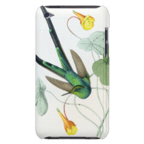 Hummingbirds Birds Flowers Floral Wildlife Animals Barely There iPod Case