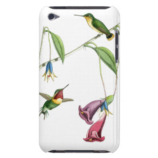 Hummingbirds Birds Flowers Floral Wildlife Animals Barely There iPod Cover