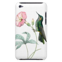 Hummingbirds Birds Flowers Floral Wildlife Animals iPod Touch Case-Mate Case