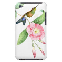 Hummingbirds Birds Wildlife Animals Flowers Floral iPod Touch Case