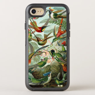 Hummingbirds by Ernst Haeckel, Vintage Birds Trees OtterBox Symmetry iPhone 7 Case