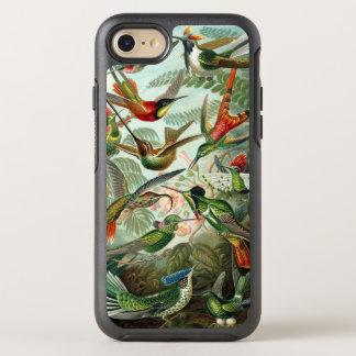 Hummingbirds by Ernst Haeckel, Vintage Birds Trees OtterBox Symmetry iPhone 8/7 Case