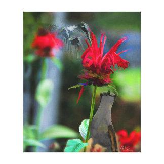 HUMMINGBIRDS- Canvas Print  - 20 x 24
