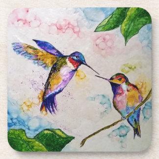 Hummingbirds Drink Coaster