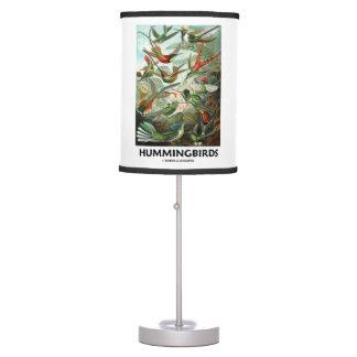 Hummingbirds Ernest Haeckel Artforms Of Nature Desk Lamp
