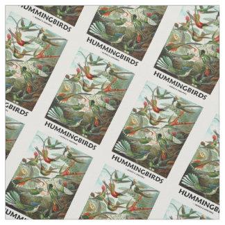 Hummingbirds Ernest Haeckel Artforms Of Nature Fabric
