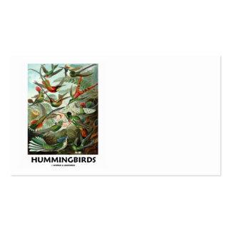 Hummingbirds (Ernest Haeckel) Business Card