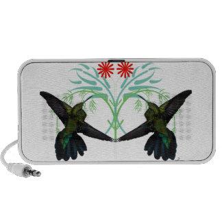 Hummingbirds Fantasy Doodle Mini Speaker