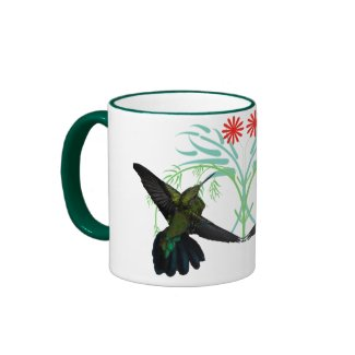 Hummingbirds Fantasy Mug mug