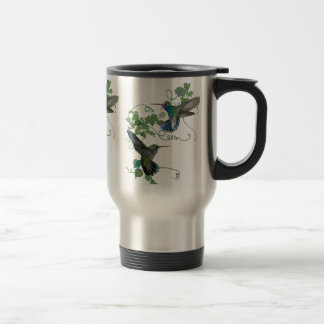 Hummingbirds Flight Travel Mug