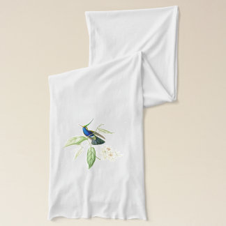 Hummingbirds & Flowers Scarf