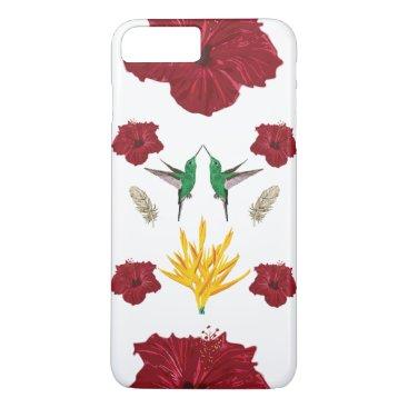 Hummingbirds inspiraton iPhone 8 plus/7 plus case