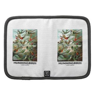 Hummingbirds Folio Planner