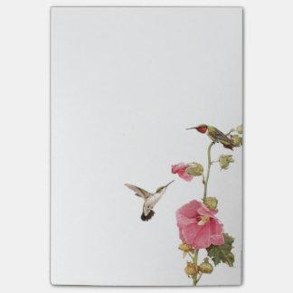 Hummingbirds Post It Notes