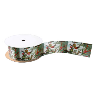 Hummingbirds Satin Ribbon
