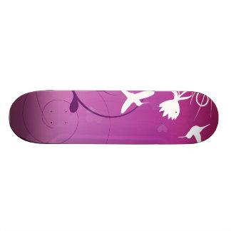 Hummingbirds Skateboard Deck