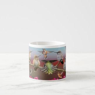 Hummingbirds Espresso Mugs
