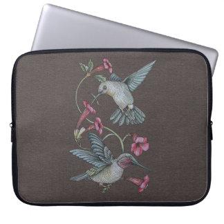 Hummingbirds & Vine Computer Sleeve