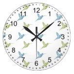 Hummingbirds Wallclocks