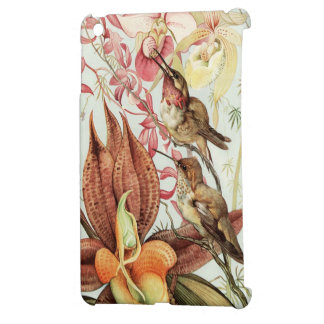 Hummingbirds with Orchids iPad Mini Cover