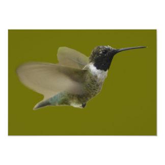 hummmming Hummingbird Card