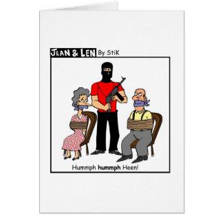 Hummph hummph Heen! Card