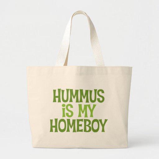 Hummus es la mi bolsa de asas del Homeboy