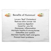 Hummus placemats