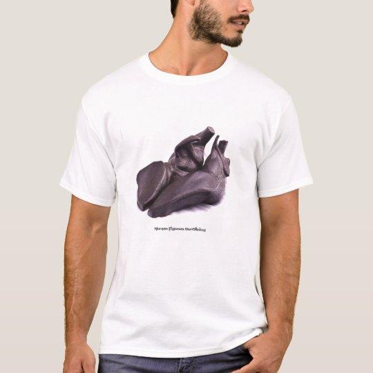 Humn Figures De-clining T-Shirt