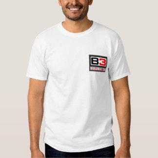 Humo B3 en la camiseta del agua Polera