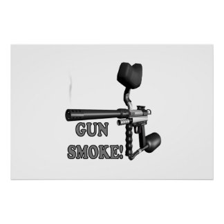 Humo de arma poster