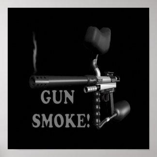 Humo de arma posters